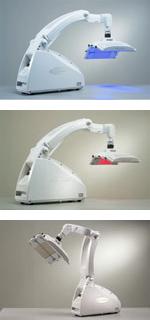 医療用LED(オムニラックスOmnilux)「青」「赤」「白」